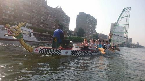 تجربة شخصية التجديف فى نهر النيل بمصر كما لم تعرفه من قبل